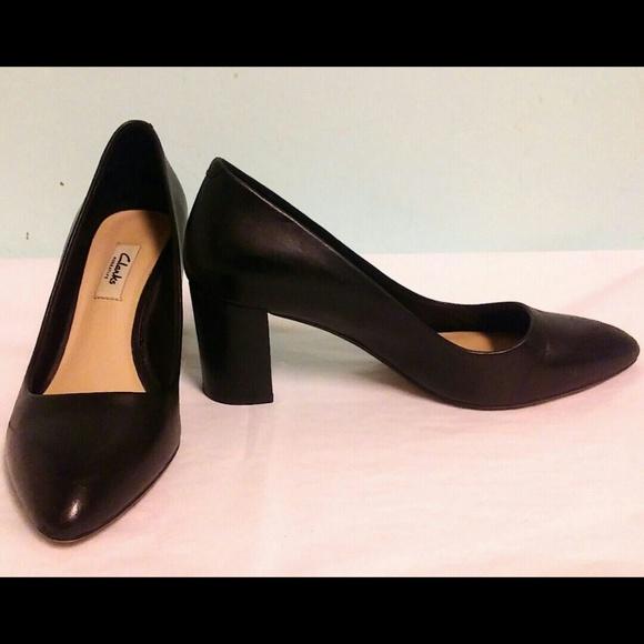 508b7b93c29 Clarks Shoes - Clarks Classic Black Pump 8.5